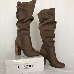Report suede boots- NEW!